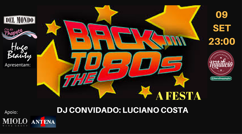 2ª back to the 80s 2